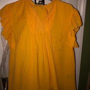 Tops - Yellow blouse